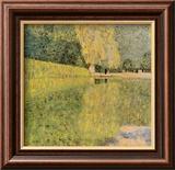 Schonbrunn Park Art by Gustav Klimt