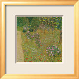 Orchard with Roses, c.1911 Prints by Gustav Klimt