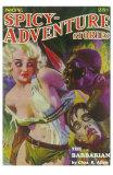 Spicy Adventure Stories Print