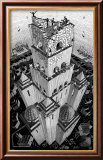 Tower of Babel Art by M. C. Escher