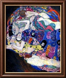 The Maiden Lámina giclée enmarcada por Gustav Klimt