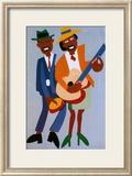 Blind Singer Affiche par William H. Johnson