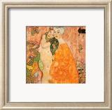 Las amigas Póster por Gustav Klimt