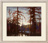 Beaver Swamp Art by Lawren S. Harris