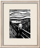 Scream Affiches par Edvard Munch