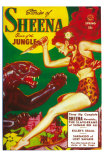Sheena Queen of the Jungle Posters