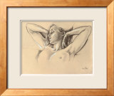 Study for Wing-Like Arms Prints by Francine Van Hove