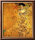 Adele Bloch-Bauer I Lmina gicle enmarcada por Gustav Klimt