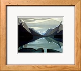 Maligne-See, Jasper Park Kunstdrucke von Lawren S. Harris