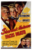 Sherlock Holmes Faces Death Print