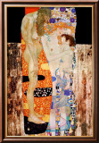 Las tres edades de la mujer, ca.1905 Pster por Gustav Klimt