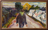 The Murderer, 1910 Affiches par Edvard Munch