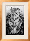 Tower of Babel Prints by M. C. Escher