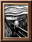 Scream Art par Edvard Munch