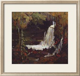 Woodland Waterfall Poster by Tom Thomson