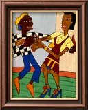 Jitterbugs Affiche par William H. Johnson