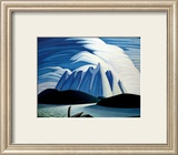 See und Gebirge Kunstdrucke von Lawren S. Harris