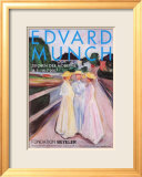 Madeban auf dem Pier, c.1896 Affiches par Edvard Munch