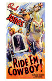 Ride 'Em Cowboy Posters
