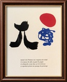 Illustrated Poems, Parler Seul Kunstdrucke von Joan Miró