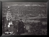Chrysler Building and Queensboro Bridge Poster par Murat Taner