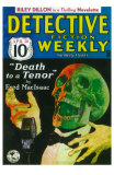 Detective Fiction Weekly Print