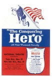 The Conquering Hero Poster