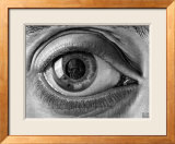 Eye Póster por M. C. Escher