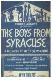 The Boys From Syracuse Posters