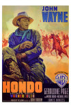 Hondo, l&#39;homme du d&#233;sert Affiches