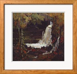 Woodland Waterfall Art by Tom Thomson