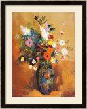Bukiet kwiatów Reprodukcje autor Odilon Redon