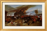 The Defence of Rorke's Drift Poster by Alphonse Marie de Neuville