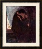 The Kiss, 1897 Posters par Edvard Munch