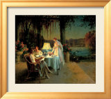Quiet Evening Affiches par Delphin Enjolras