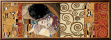 Deco Collage (from The Kiss) Láminas por Gustav Klimt