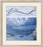 Over The River X: Project for Arkansas River Poster av Christo