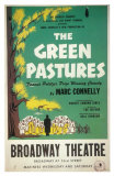 The Green Pastures Print