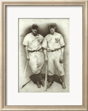 DiMaggio and Gehrig Prints by Allen Friedlander