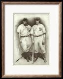 DiMaggio and Gehrig Poster von Allen Friedlander