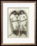 DiMaggio and Gehrig Art by Allen Friedlander