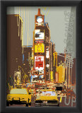 Times Square Poster by Rod Neer