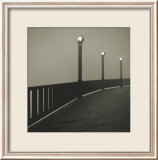 Golden Gate Bridge Study V Posters tekijänä Michael Kenna