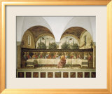 Last Supper Prints by Domenico Ghirlandaio