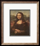 Mona Lisa, c.1507 Print by Leonardo da Vinci 