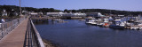 Boats at a Harbor, Boothbay Harbor, Lincoln County, Maine, USA Photographic Print by  Panoramic Images