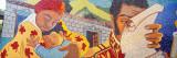 Mural on a Wall, La Hoyada, Caracas, Venezuela Photographic Print by  Panoramic Images
