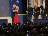 Vice President Joe Biden and His Wife Jill Dance at the Biden Home States Ball in Washington Photographic Print
