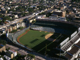View of a Baseball Stadium, Wrigley Field, Chicago, Cook County, Illinois, USA Photographie