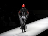 Chinese Model Displaying a Creation by Fashion Designer Xi Jingkai During Fashion Week in Beijing Photographic Print